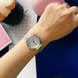 Retro Metal Strap Watch
