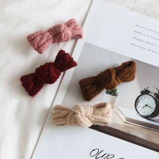 Knit Knot Hair Clip