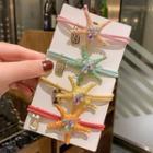 Rhinestone Starfish Hair Tie