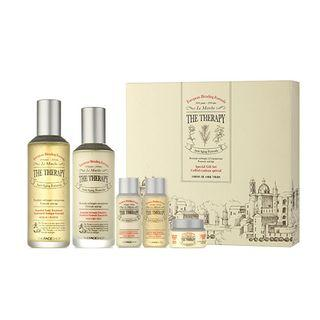 The Face Shop - The Therapy Special Set: Tonic 150ml + 32ml + Emulsion 130ml + 32ml + Cream 10ml