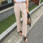 Linen Blend Dress Pants
