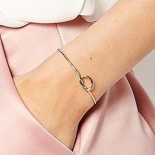 Knot Open Bangle