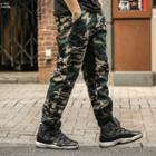 Regular-fit Camouflage Panel Pants