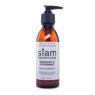 Siam Botanicals - Revive - Rosemary And Peppermint Hair Conditioner 220g