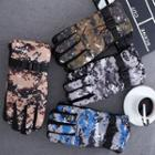 Camouflage Fleece-lined Gloves Color - Random - One Size