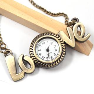 Love Pocket Watch Copper - One Size