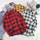 Plaid-panel Shirt