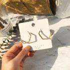 Alloy Geometric Earring 1 Pair - Alloy Geometric Earring - One Size
