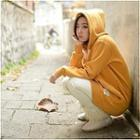 Cotton Hooded Top