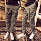Cargo Pocket Harem Pants