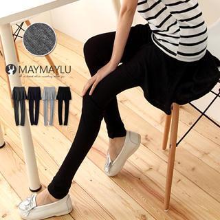 Inset-skirt Leggings