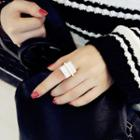 Square Buckled Ring