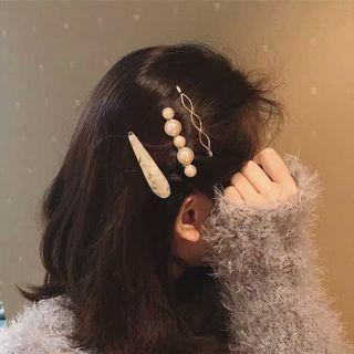Faux Pearl Hair Clip / Set
