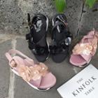 Rosette Platform Sandals