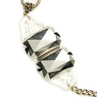 Shiny Silver Romantic Metal Bracelet