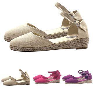 Ankle Strap Close-toe Sandals
