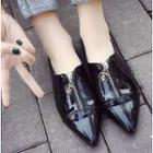 Zip Pointy Flats