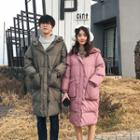 Couple Matching Hooded Zip Padded Coat