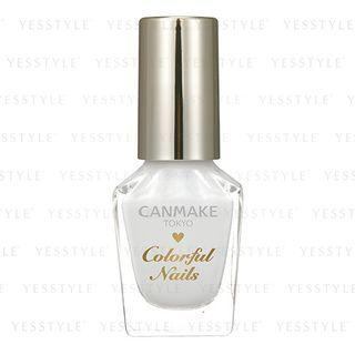 Canmake - Colorful Nails (#01 White) 8 Ml