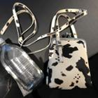 Cow Print Handbag Dairy Cow - White - One Size