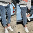 Cargo-pocket Jogger Jeans