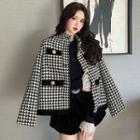 Houndstooth Jacket / Top / Shorts