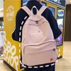 Strawberry Embroidered Nylon Backpack