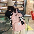Top Handle Backpack / Bag Charm / Set