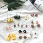 Resin / Wooden Dangle Earring