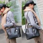 Set: Tassel Charm Handbag + Pouch