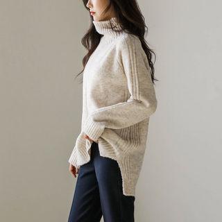 Mock Turtle-neck Sweater
