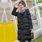 Hooded Padded Toggle Coat