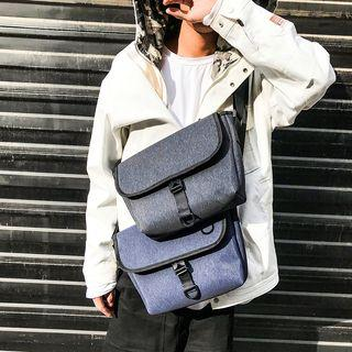 Oxford Flap Messenger Bag