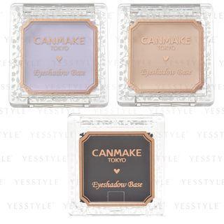 Canmake - Eyeshadow Base - 3 Types