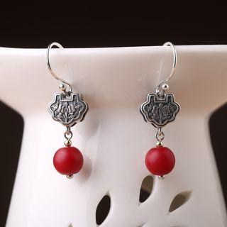 Folk Style Earring 1 Pair - As Shown In Figure - One Size