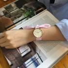 Fabric Bow Strap Watch