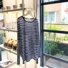 Stripe Summer Knit Top