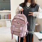 Buckled Backpack / Pin