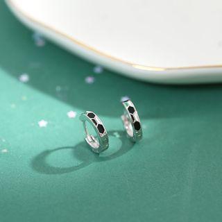 Sterling Silver Cicle Earrings  - Earring