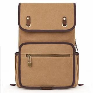 Flap Canvas Backpack