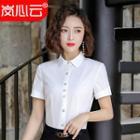 Short-sleeve Blouse / Mini Pencil Skirt / Set