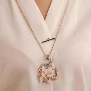 Embellished Necklace 1 - 10820 - As Shown In Figure - One Size