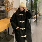 Hood Toggle Coat Black - One Size