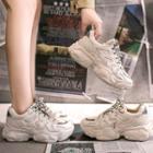 Ridged Platform Sneakers