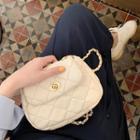 Argyle Chain Strap Shoulder Bag