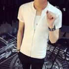 Short-sleeve Zip Jacket