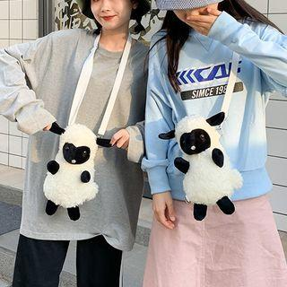 Furry Sheep Crossbody Bag As Shown In Figure - One Size