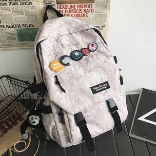 Tie-dyed Buckled Backpack