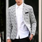 Melange Slim Fit Blazer