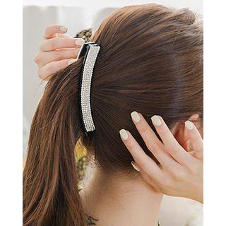 Rhinestone Pav  Hair Clamp One Size